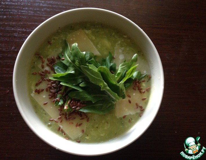 Рецепт: Суп-пюре из одного кабачка
