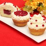 Икра сладкая десертная и кексы с начинкой