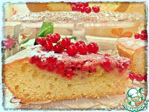 Смородиновый пирог – кулинарный рецепт
