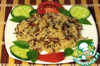 Рецепт: Египетский рис