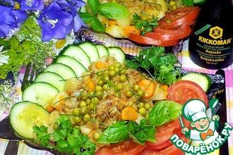 Рецепт: Тёплый картофельный салат