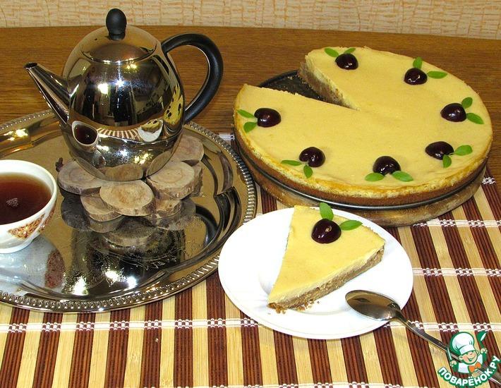 Рецепт: Лимонный торт-пай