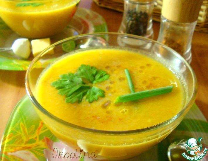 Рецепт: Суп-пюре овощной с томатным соком