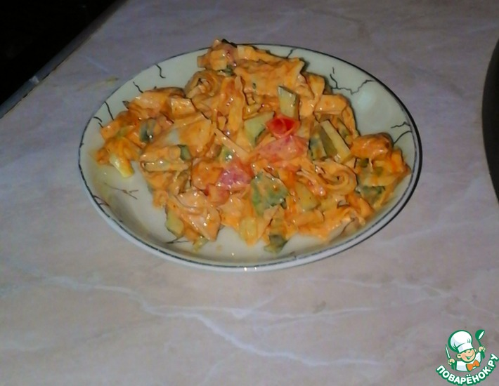 Рецепт: Салат Пикантный