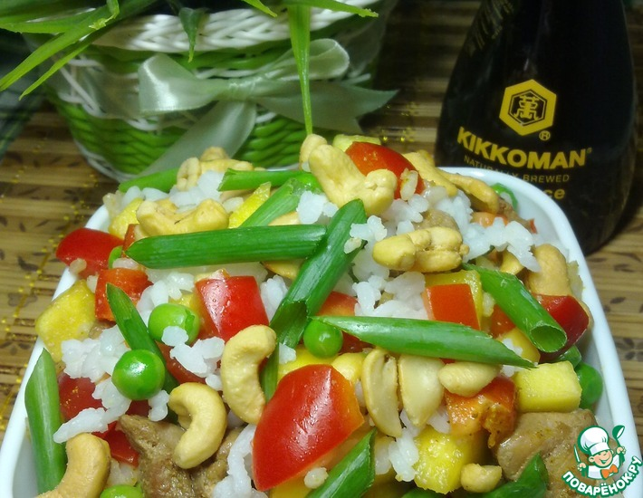 Рецепт: Китайский салат из курицы