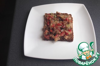 Рецепт: Закуска баклажановая