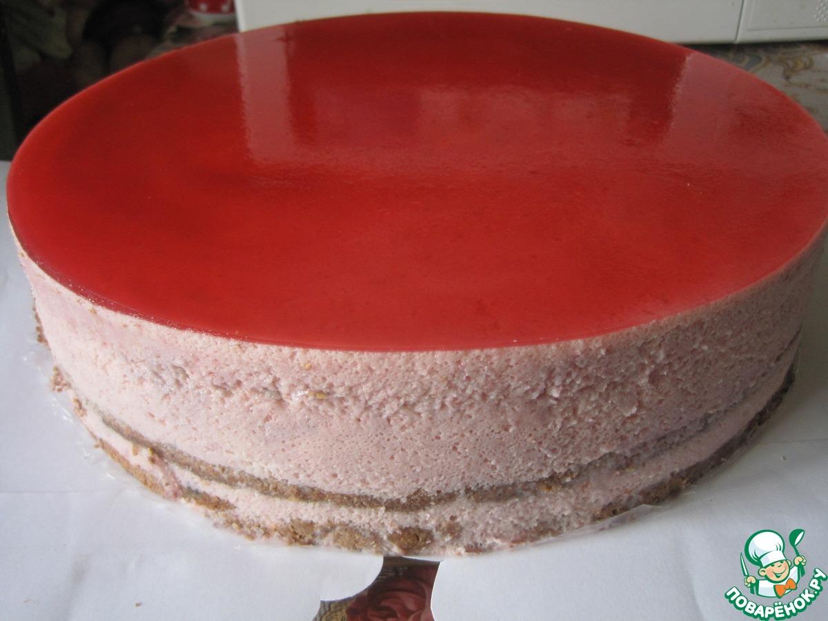 """Торт """"Малиновый рай"""""""