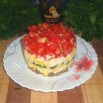 Яичный салат Острый