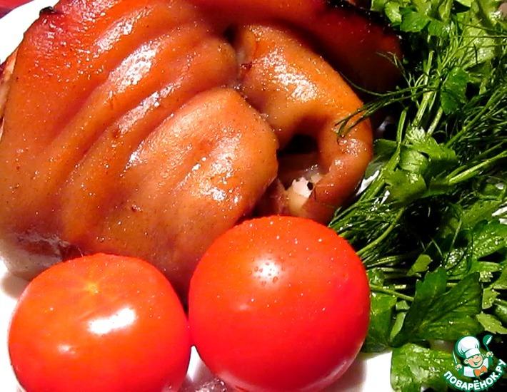 Рецепт: Свиная рулька