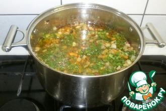 Рецепт: Мясное рагу с фасолью