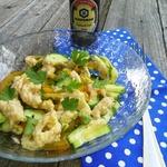 Салат из свежих овощей Итальяно
