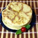 Грузинские лепёшки с сыром Хачапури