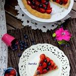 Ягодный пирог 77 калорий