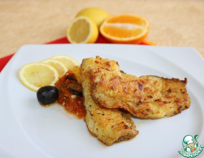 Рецепт: Рыба над соусом