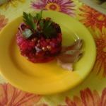 Винегрет с печёными овощами
