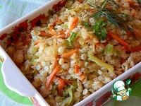 Теплый капустный салат с макаронами ингредиенты