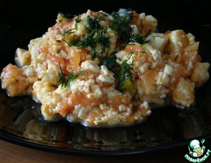 Рецепт: Омлет без яиц