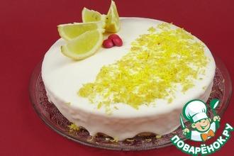 Рецепт: Вкусный лимонный кекс