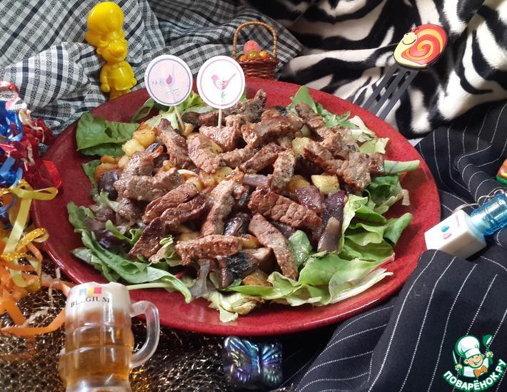 Рецепт: Салат Тель-Авив