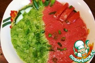 Рецепт: Холодный суп Гаспаччо