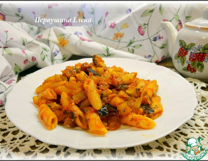 Рецепт: Паста овощная с пряностями
