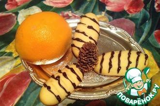Рецепт: Печенье Апельсинки