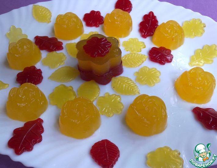 Рецепт: Домашний мармелад на агар-агаре
