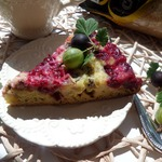 Пирог с крыжовником Полосатый
