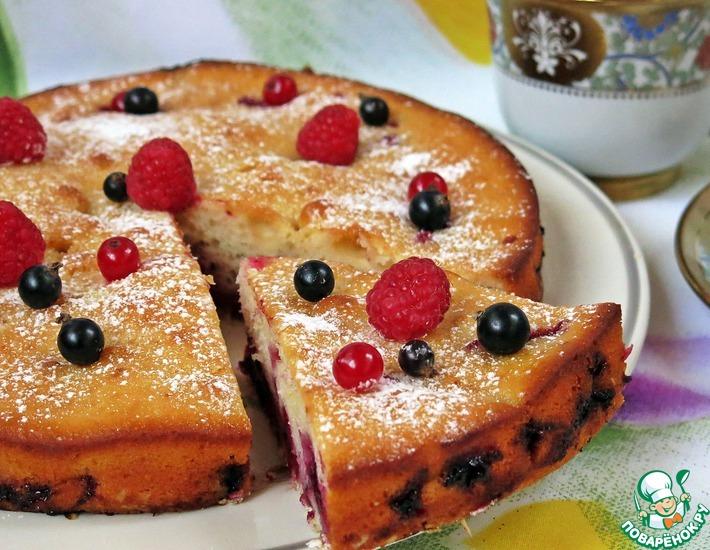 Рецепт: Пирог Ягодный клад