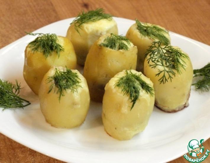 Рецепт: Картофельные гнёзда
