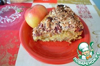 Рецепт: Яблочный пирог Мюсли