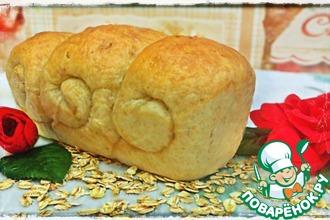 Рецепт: Домашний овсяный хлеб