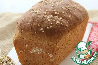 Рецепт: Овсяно-кукурузный хлеб