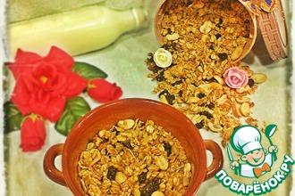 Рецепт: Домашняя гранола для завтраков