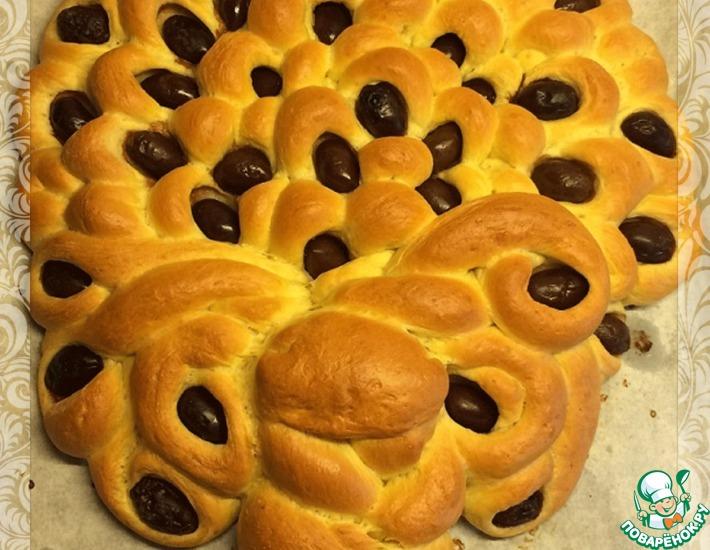 Рецепт: Хлеб Оливковое дерево