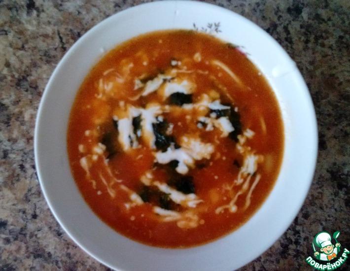 Рецепт: Суп с томатным соком
