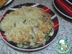 Рецепт Большой драник с начинкой из курицы и сыра