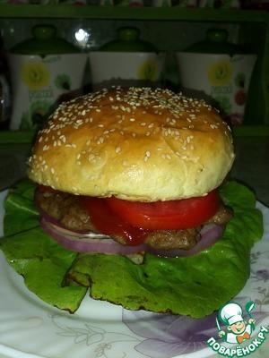 Рецепт Булочка для гамбургера