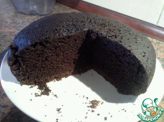 шоколадный торт на раз,два,три