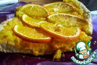 Рецепт: Апельсиновая пицца