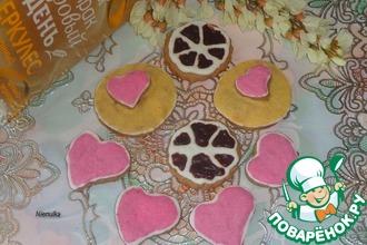 Рецепт: Имбирно-овсяное печенье