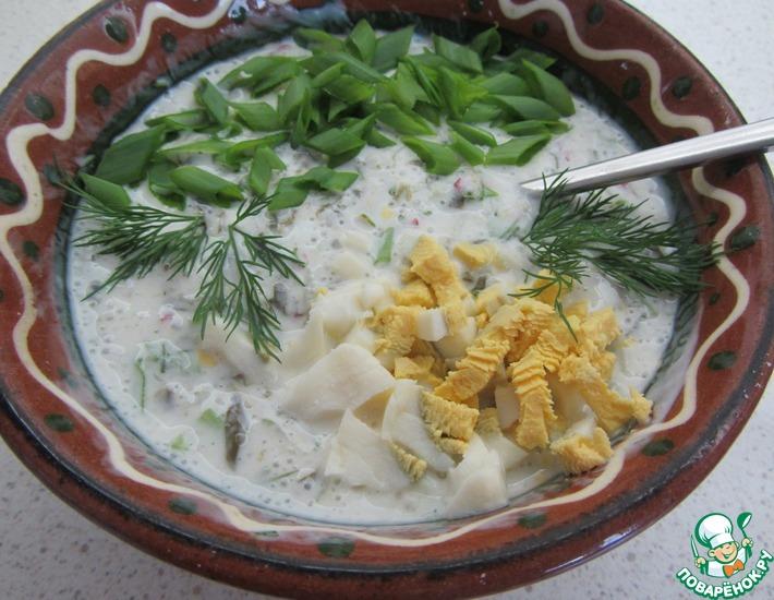 холодный борщ рецепт с фото поваренок