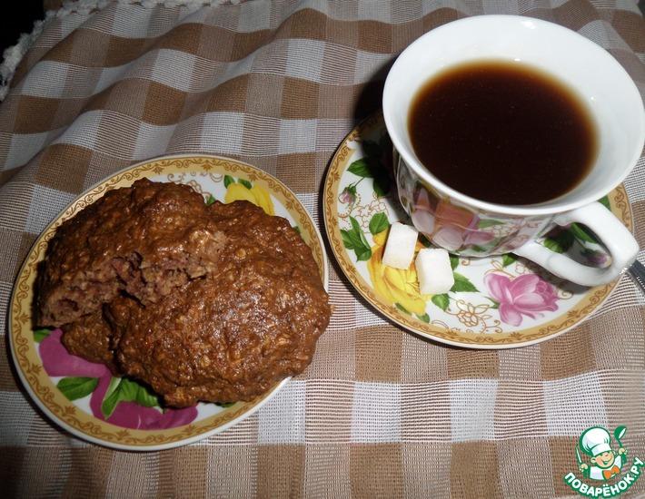 Рецепт: Печенье ОвсяНочка
