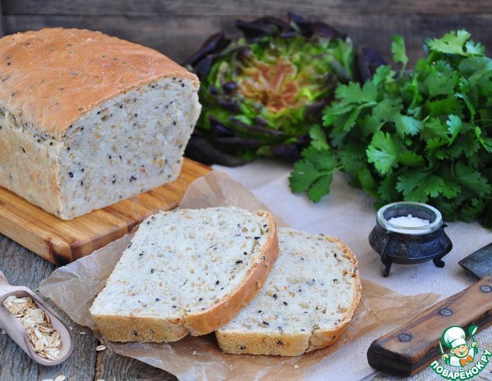 Рецепт: Простой злаковый хлеб