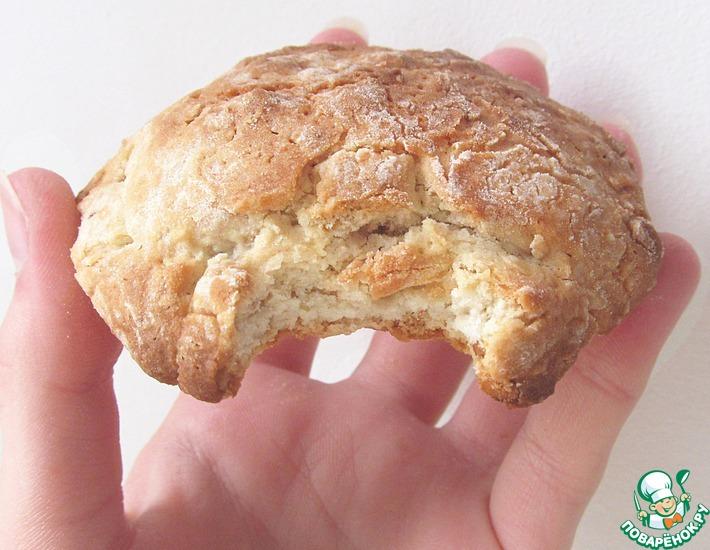 Рецепт: Вкуснейшее овсяное печенье