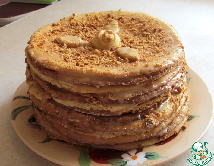 Рецепт: Торт Медовик