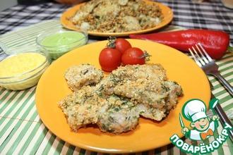 Рецепт: Филе рыбы в ореховой панировке