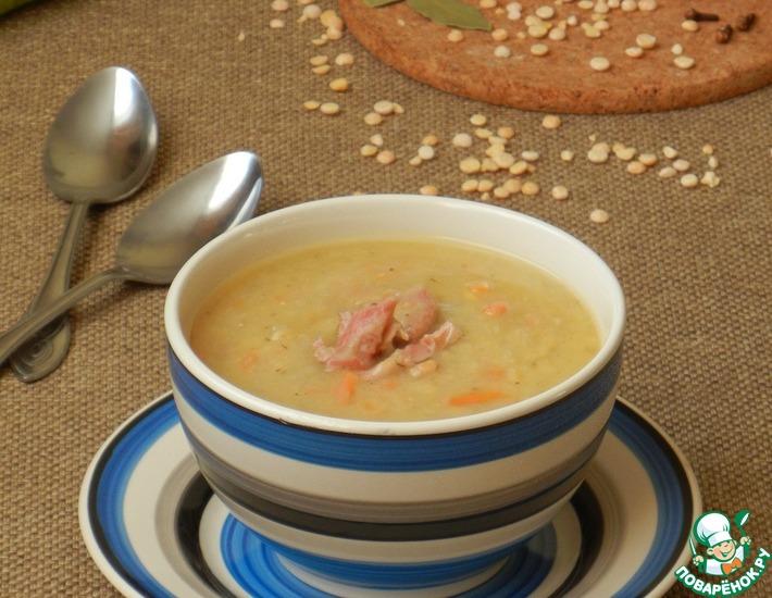 Рецепт: Шведский гороховый суп