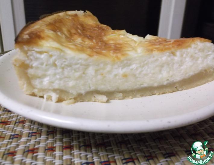 Рецепт: Пирог с сыром
