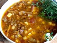 Чечевичный суп с беконом ингредиенты